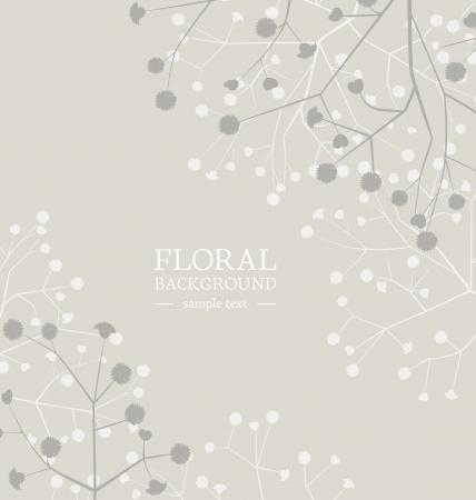 Красивый фон цветы с местом для текста