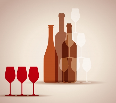 wine background for web or print Stock Vector - 20220792