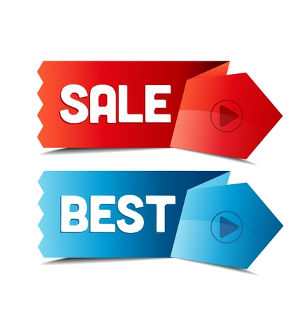 discount coupon: set of tags pro sale, best