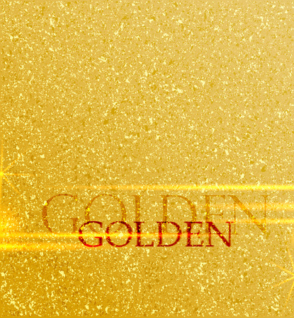 Golden background with place for text Stock Illustratie