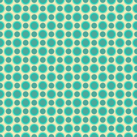 retro colors: Simple seamless pattern in retro colors, circles
