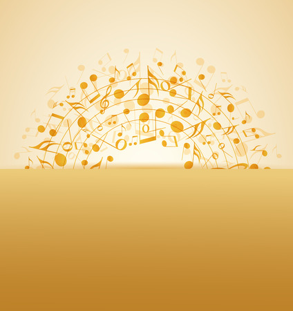 electronic music: Vector illustration of an abstract music background