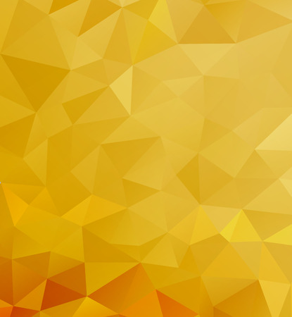 geometric shapes: Golden pattern of geometric shapes, color triangle Illustration