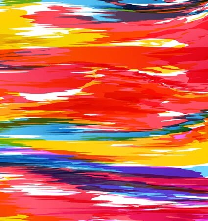 colorful abstract picture, the background color, image Illustration