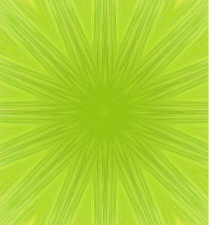 background kaleidoscope: Green abstract pattern, kaleidoscope background vector illustration Illustration