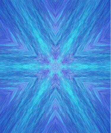 background kaleidoscope: Blue abstract pattern, kaleidoscope background vector illustration