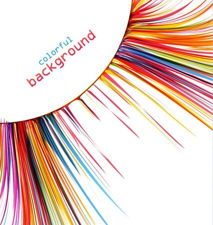 abstract swirl: Vector colorful abstract picture, the background color, image Illustration