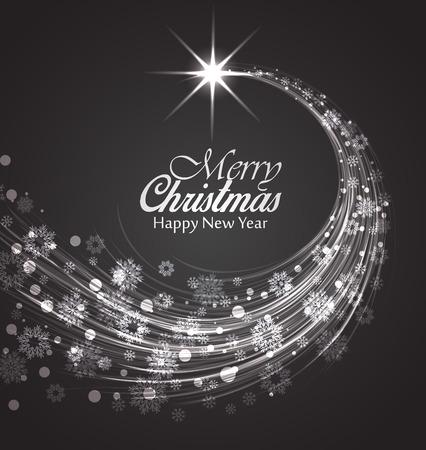 Weihnachtskarte, Happy New Year Hintergrund