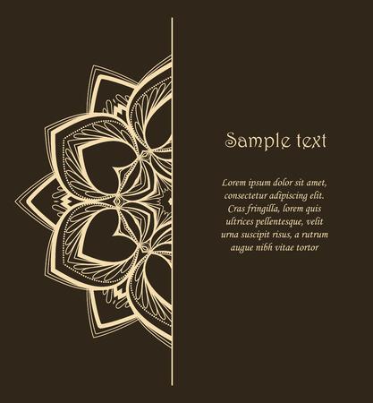 Vector Blumen-Mandala
