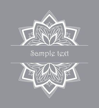 design: Vector floral design Stock Photo