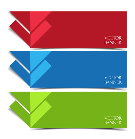 modern: Vector modern banners Illustration