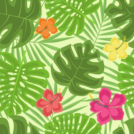 pattern: Exotic seamless pattern
