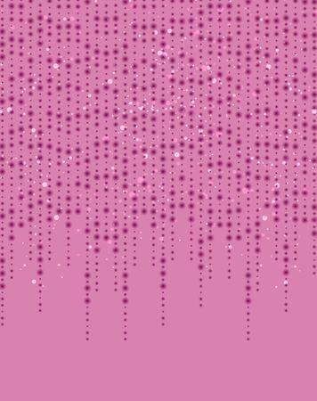 Vector illustration pink glitter light texture abstract