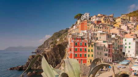 Riomaggiore, colorful village of the Cinque Terre.