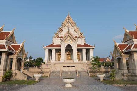 prov�ncia: Wat Dhammikaramwarrawihan,prachuap khiri khan province, thailand Banco de Imagens