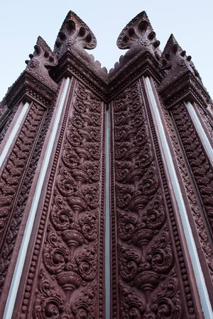 khan: Wall of Prachuap khiri khan Lak Mueang