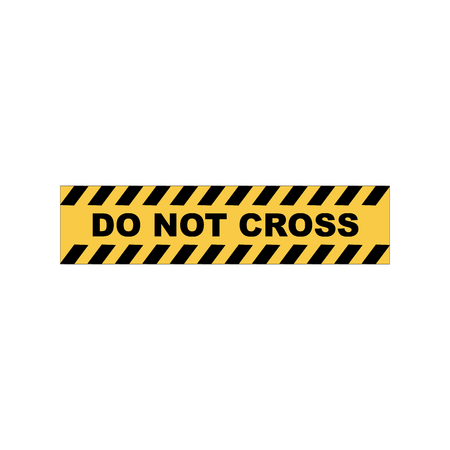 Barrier tape. Restrictive tape yellow and black colors. Illustration
