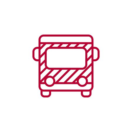 Bus icon.bus.bus icon vector.vector illustration on white background