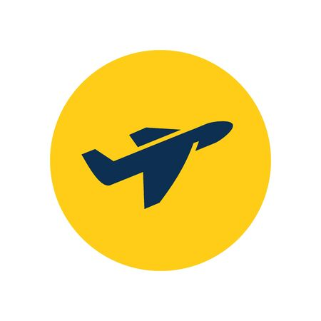 Takeoff icon. Premium style design from airport collection. Pixel perfect takeoff icon for web design, apps, software, printing usage.
