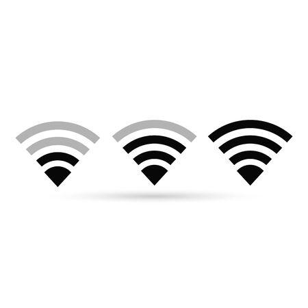 WIFI icon. Signal symbol. Vector Illustration design.