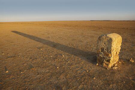 border stone Stock Photo