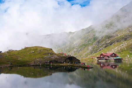 balea: Balea Lake - largest lake from Fagaras Mountains