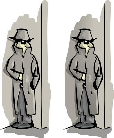 secret agent Stock Vector - 8632361