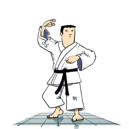 cartoon warrior: Arti marziali - karate