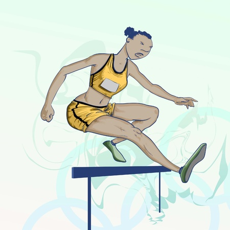 olympic games: Sports - Olympic games - hurdles