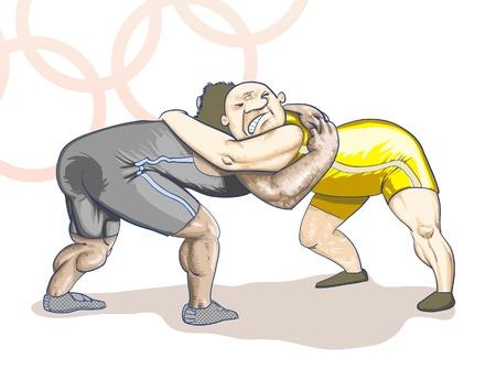 deportes olimpicos: Deportes - Juegos Olímpicos - grecorromanos Editorial