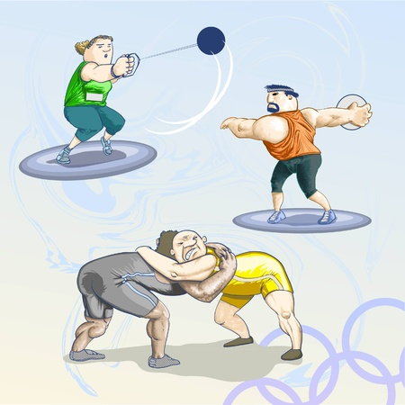 olympic game: Sports - Olympic games - pack 2