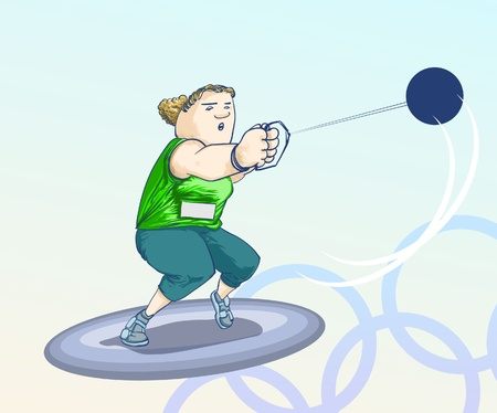 Sports - Olympic games - sphere Vector