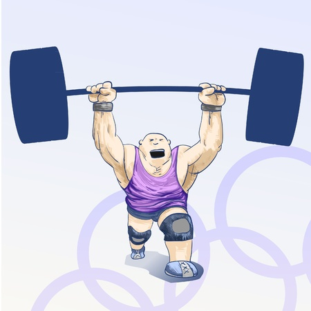 weightlifting: Sports - Olympic games - weightlifting