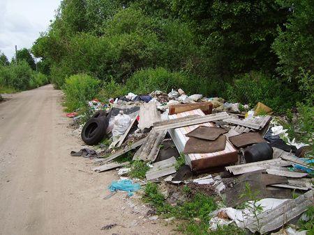 camion de basura: junkyard