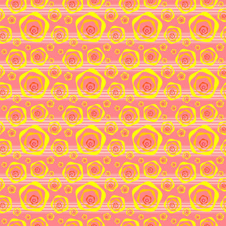 Funny background, pink with yellow Stock Photo - 1684221