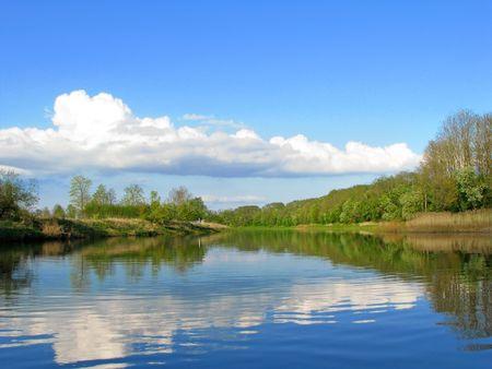 River bank 版權商用圖片