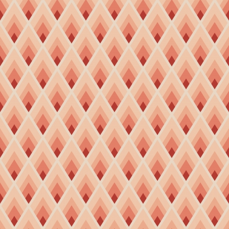 Geometric seamless pattern with red lozenges Vector