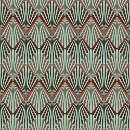 art digital: Art Deco style seamless pattern texture