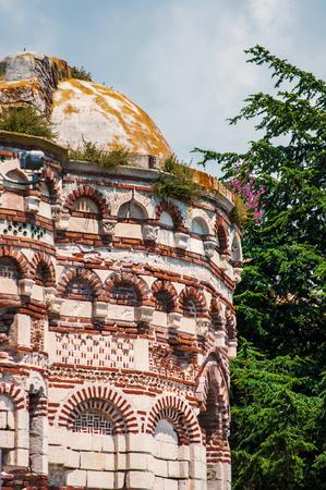 Ruined Church of Christ Pantocrator in Nesebar. Bulgaria