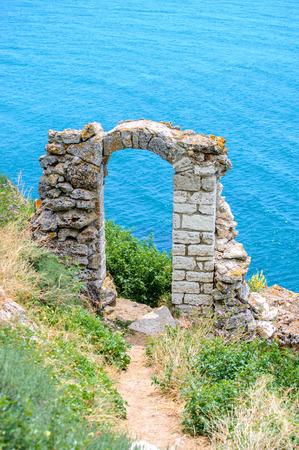 Remains of the Fortress On Cape Kaliakra, Black Sea, Bulgaria