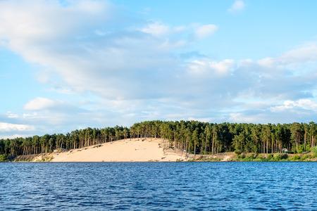 Lielupe river estuary Stock Photo