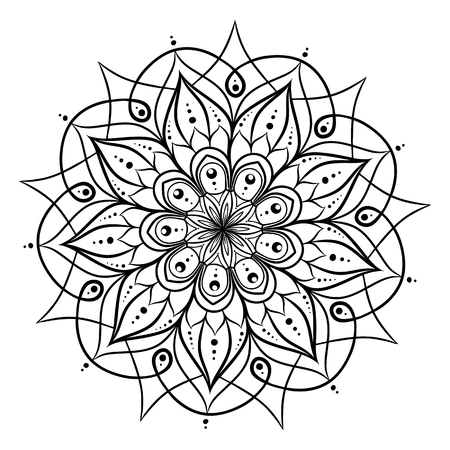 Coloring book for adults. Look my portfolio for more