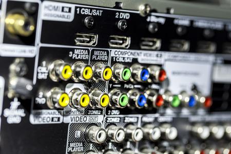 앰프 커넥터 - 소켓 세부 사항 스톡 콘텐츠 - 92669164