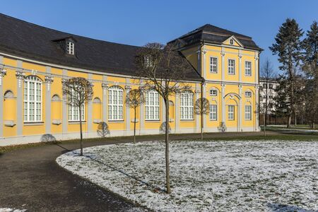 Orangery Gera and kitchen garden, historical buildings and parks in thuringia