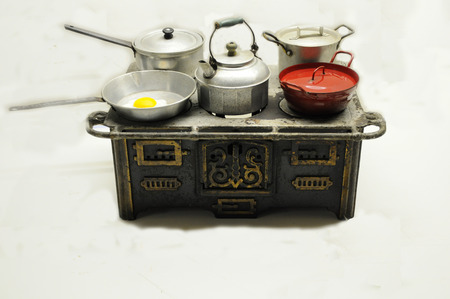 old toy stove photo