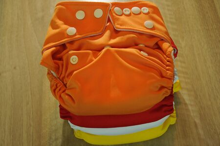 reuseable: cloth diapers summer colors