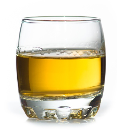 Sme scotch whiskey in small glass Stock Photo - 14394857