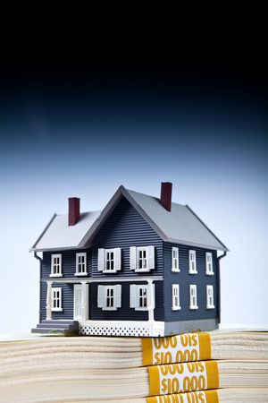 Down Payment for house concept shotting photo