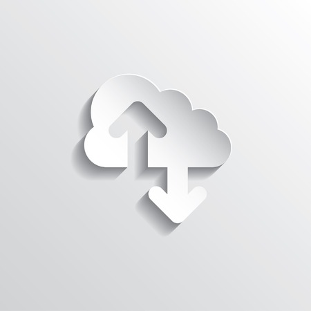 cloud: Cloud computing concept. Vector illustration in EPS10.