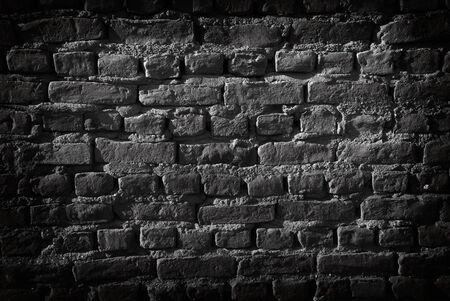 黒レンガ壁。ケラレを追加しました。背景のために大きい